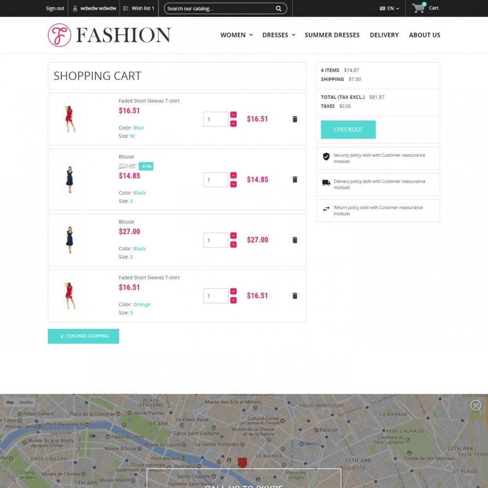 theme - Fashion & Shoes - Clothing - Fashion Store - 5