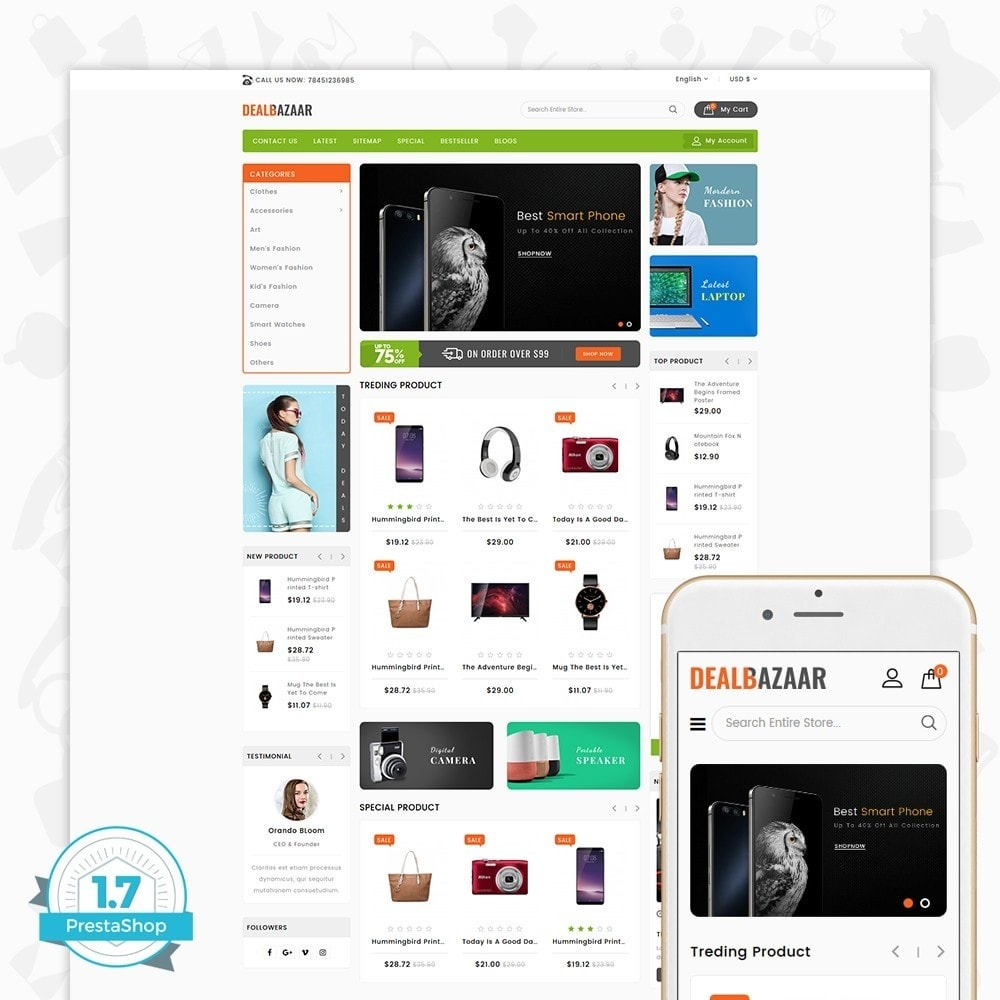 DealBazaar - Largest Marketshop