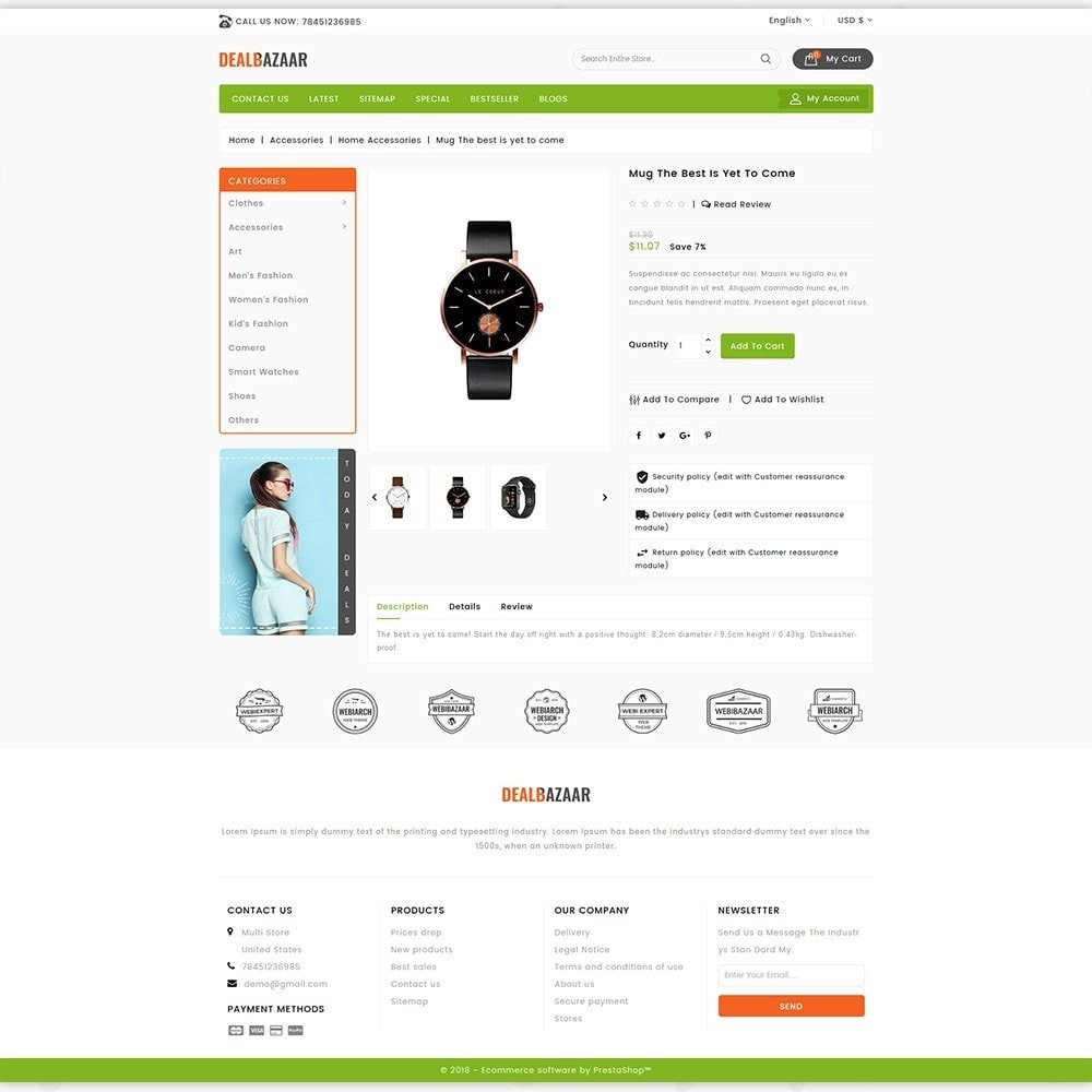 theme - Elettronica & High Tech - DealBazaar - Largest Marketshop - 5