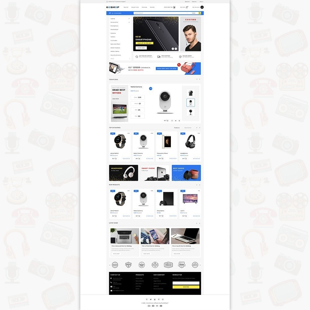 GoShop - The Electronics Store
