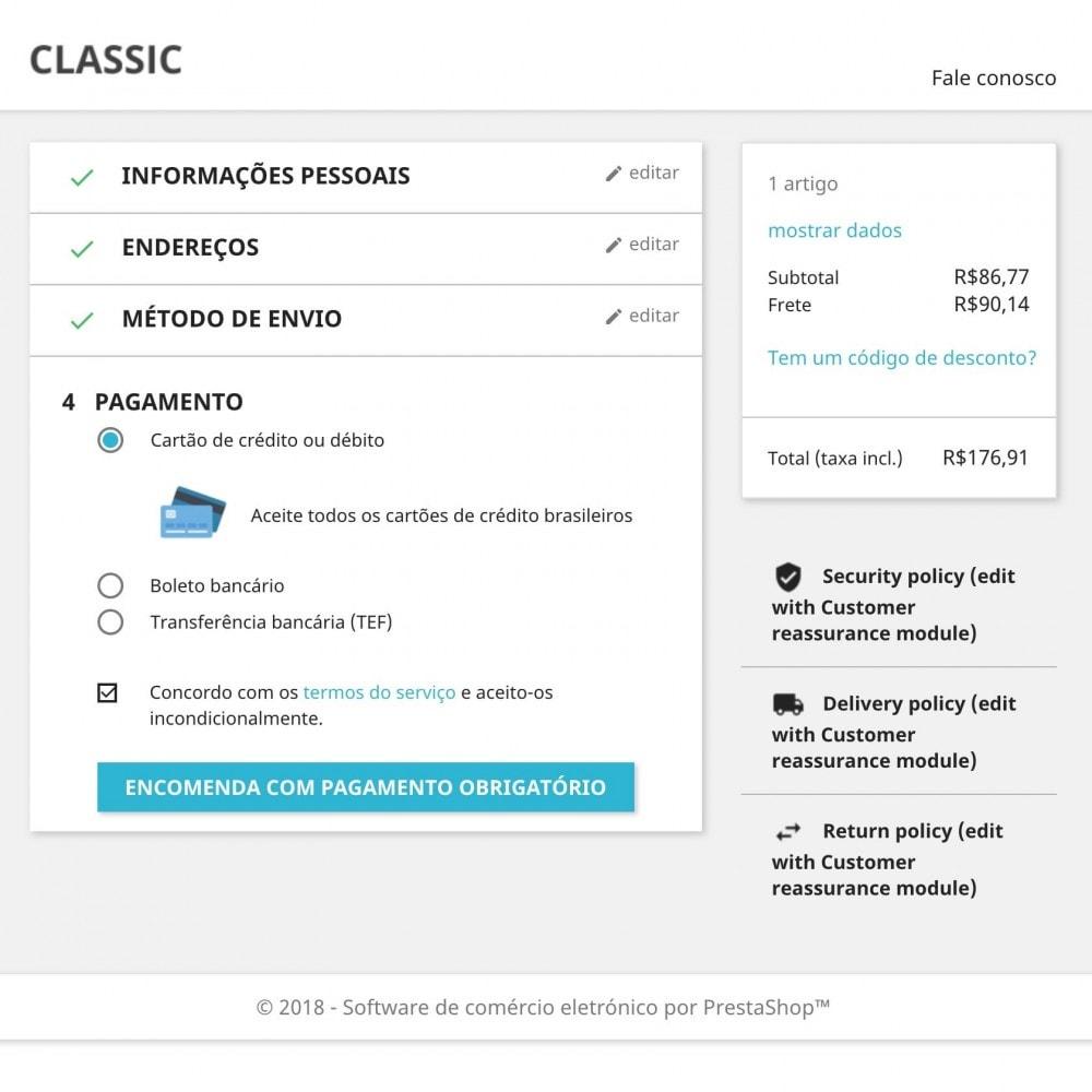 module - Pagamento por cartão ou por carteira - EBANX Plus - 6