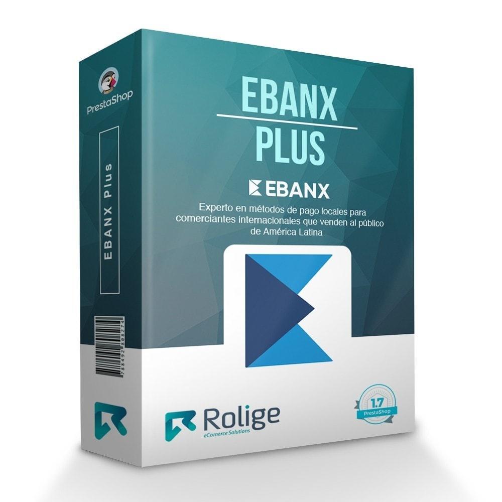 module - Pago con Tarjeta o Carteras digitales - EBANX Plus - 1