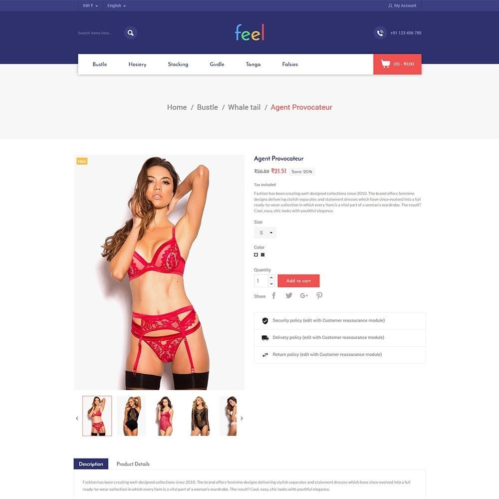 theme - Mode & Schoenen - Feel - Lingerie Store - 4