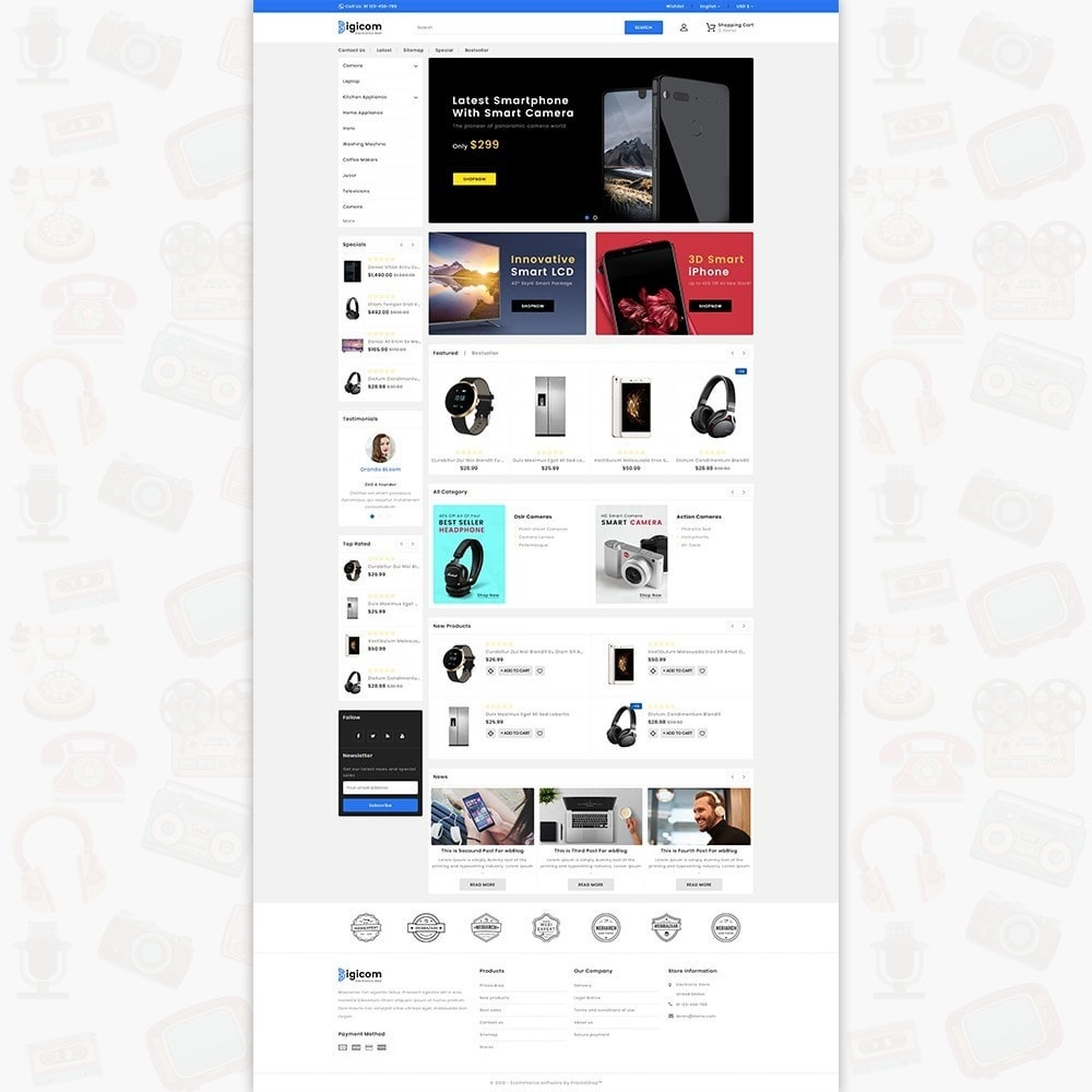 DIGICOM- The Large Ecommerce Store
