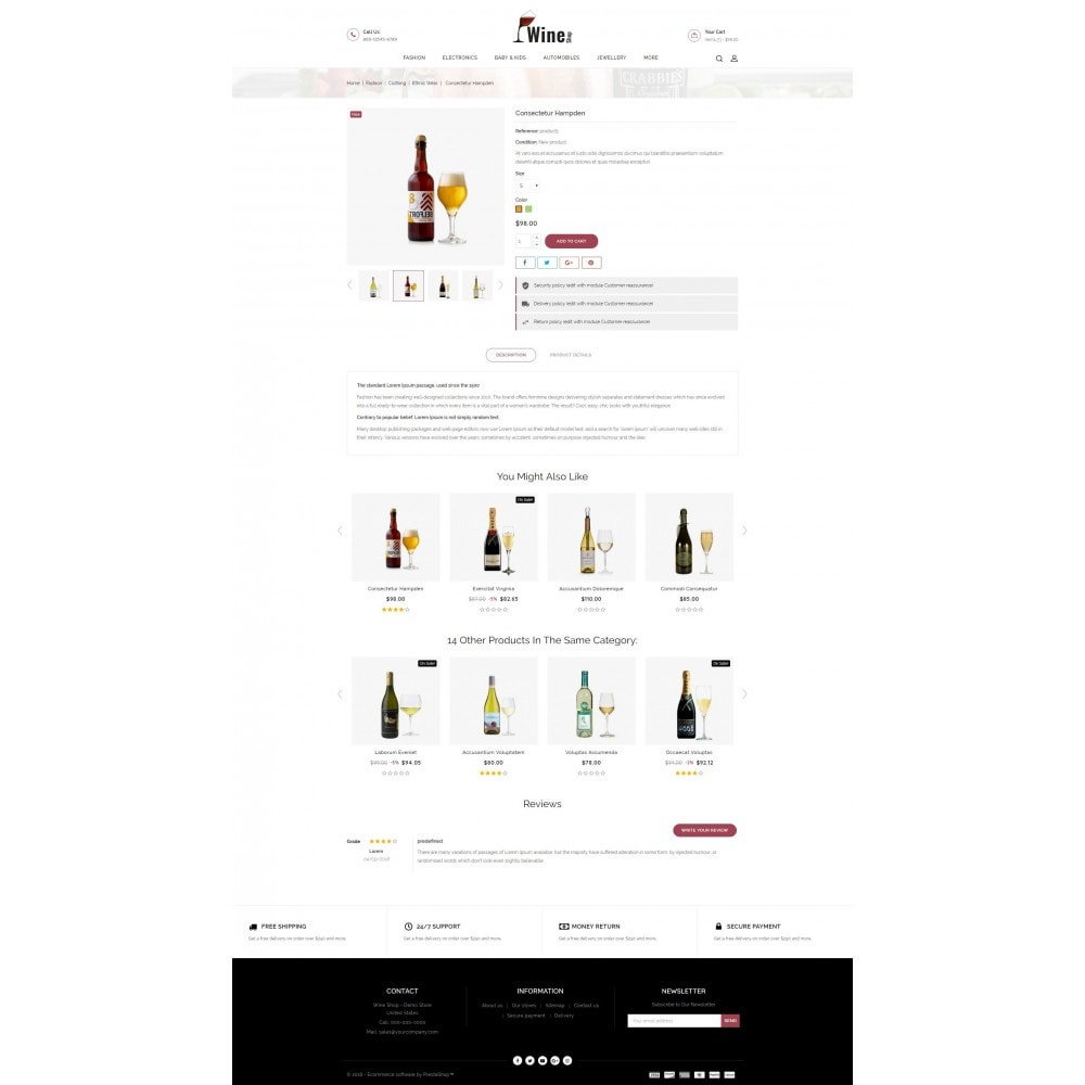 theme - Drank & Tabak - Wine Shop - 5