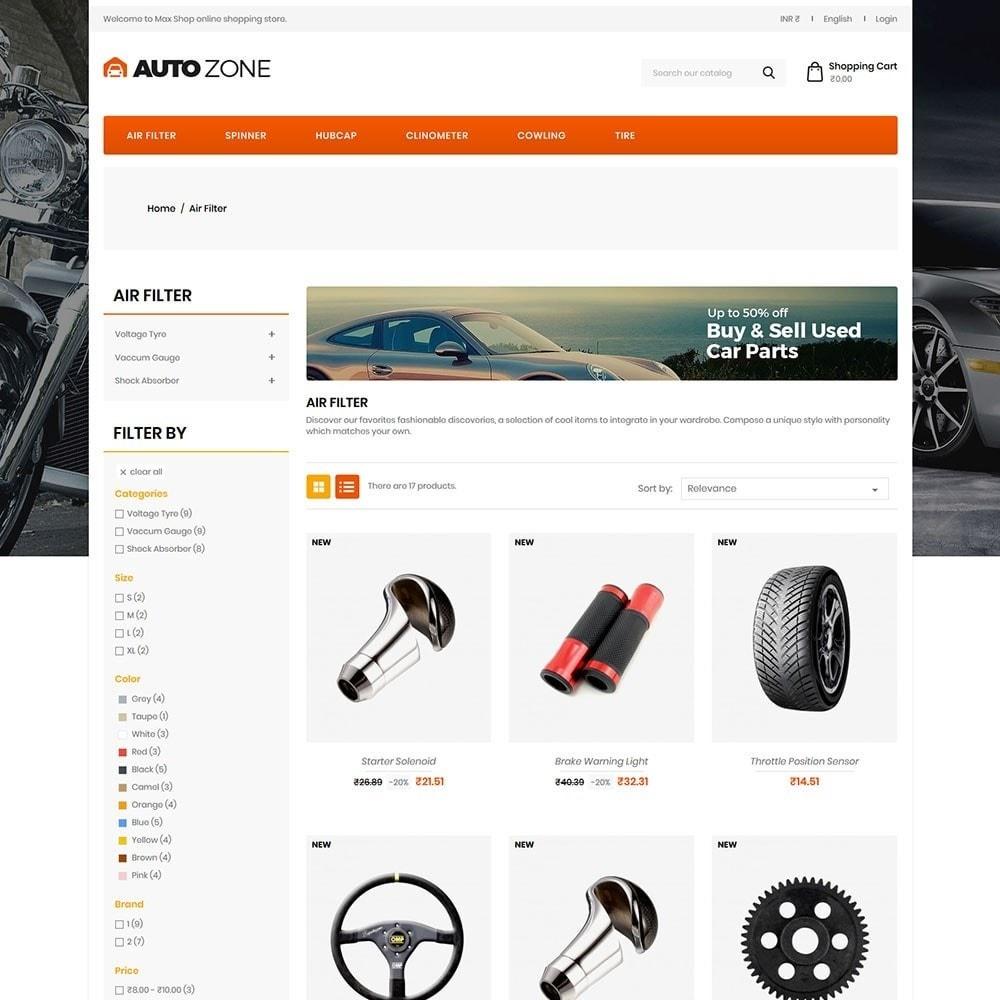 theme - Coches y Motos - Autozone - Auto Store - 3