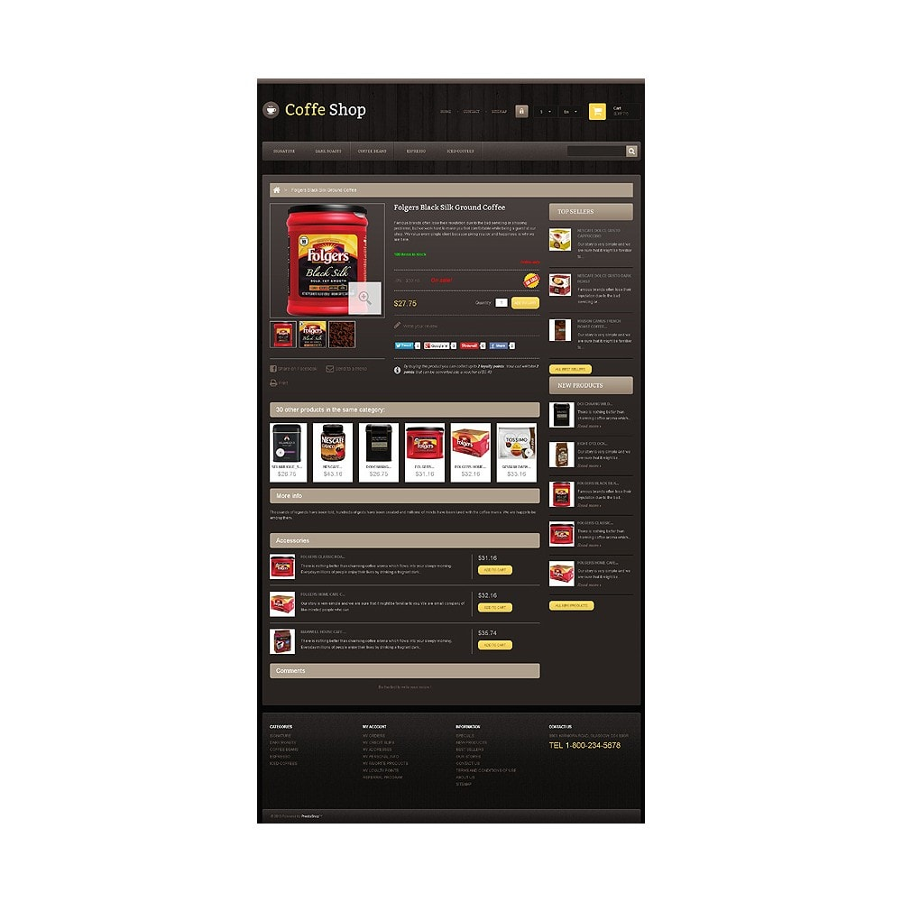 theme - Eten & Restaurant - Responsive Coffee Shop - 6