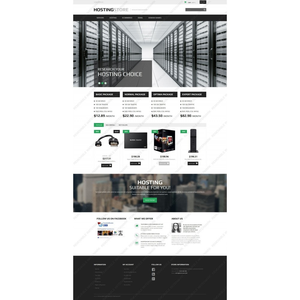 theme - Elettronica & High Tech - Hosting - 3