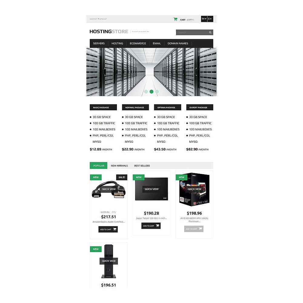 theme - Elektronika & High Tech - Hosting - 7