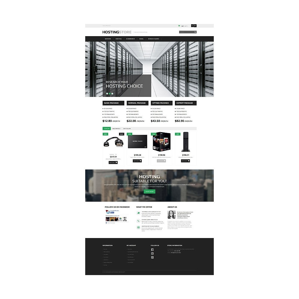 theme - Elettronica & High Tech - Hosting - 10