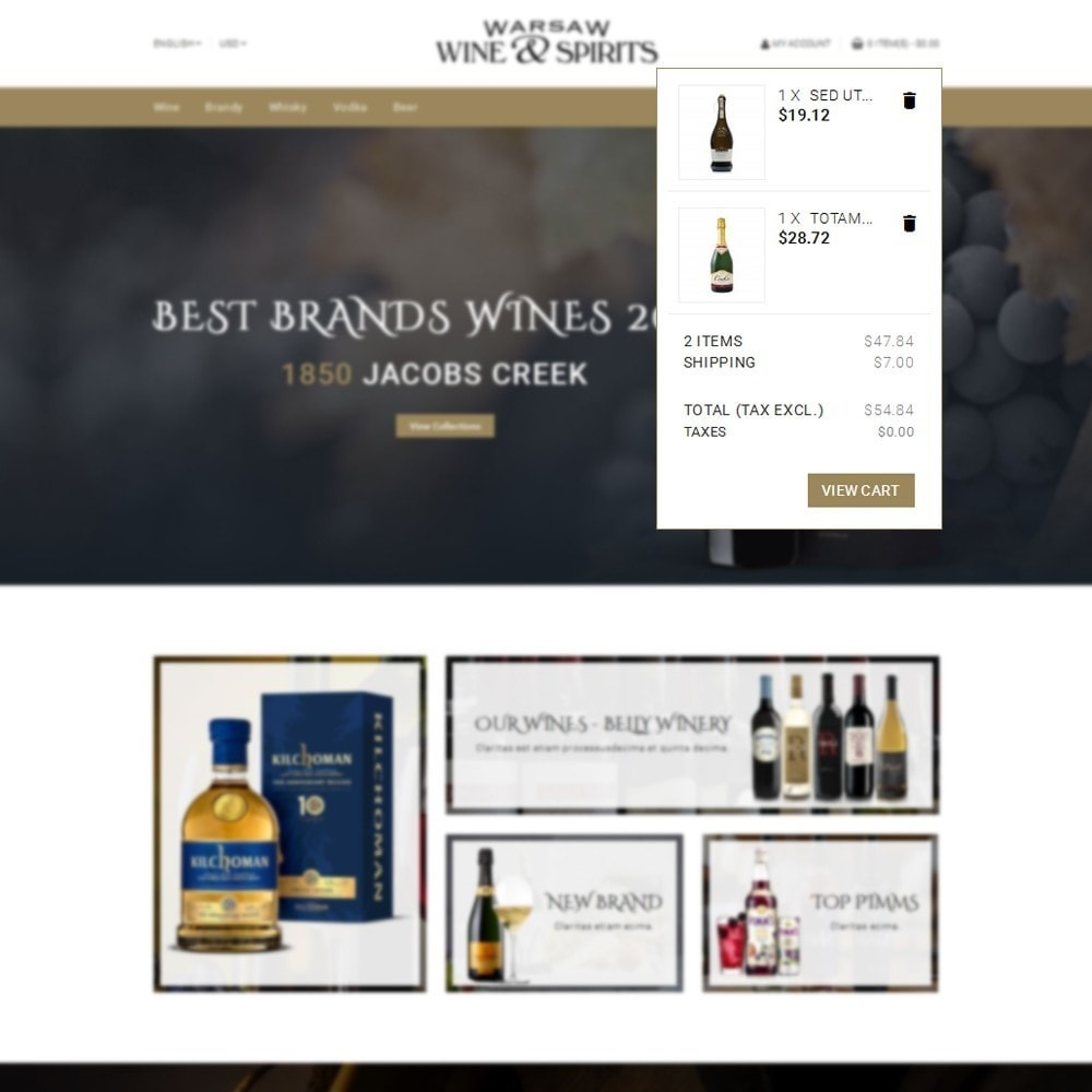 theme - Drink & Wine - Wine & Spirits Store - 8