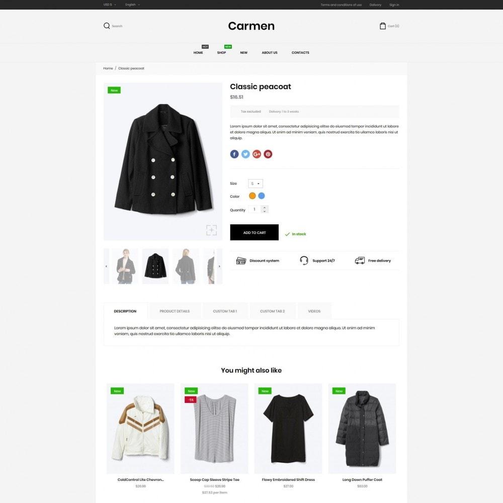theme - Mode & Chaussures - Carmen Fashion Store - 6