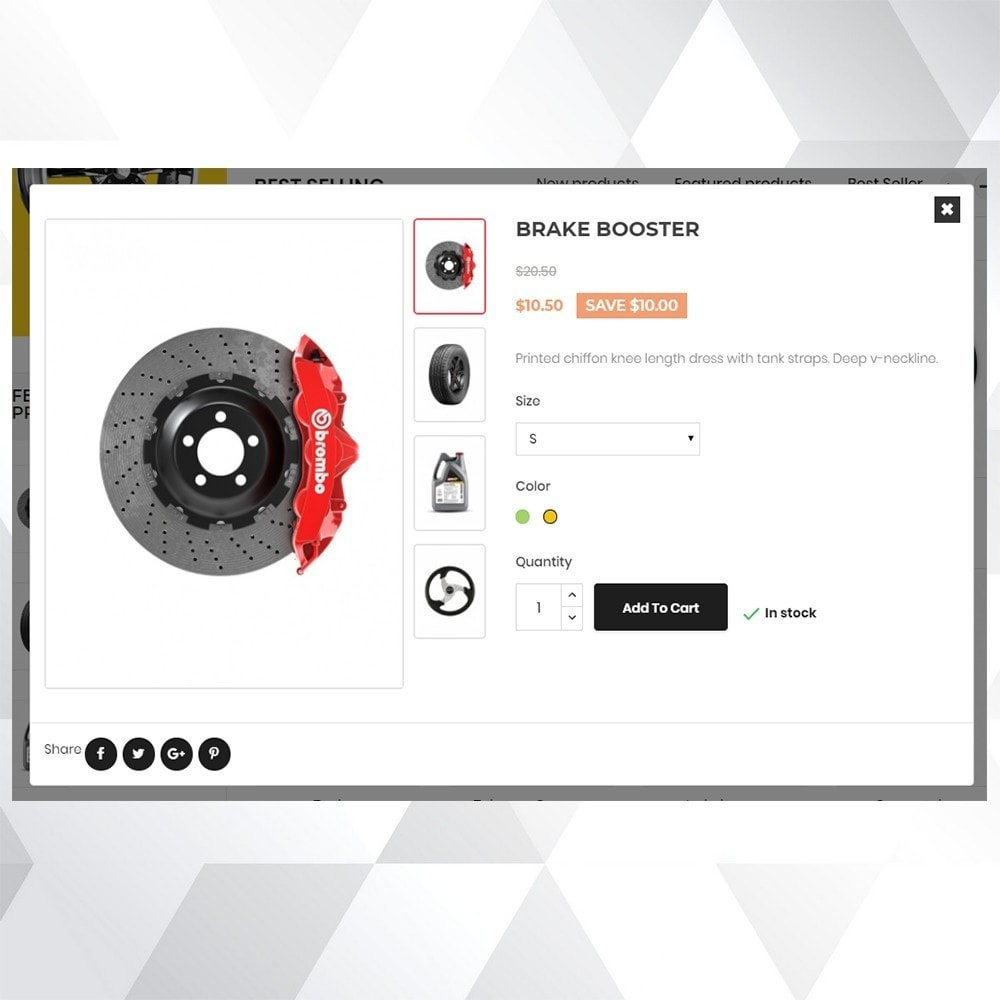 theme - Carros & Motos - Auto part store - 7