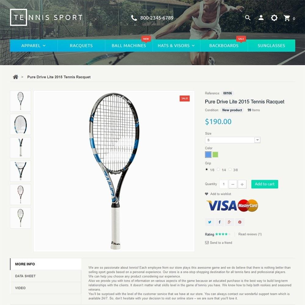 theme - Sport, Loisirs & Voyage - Tennis Sport - 3