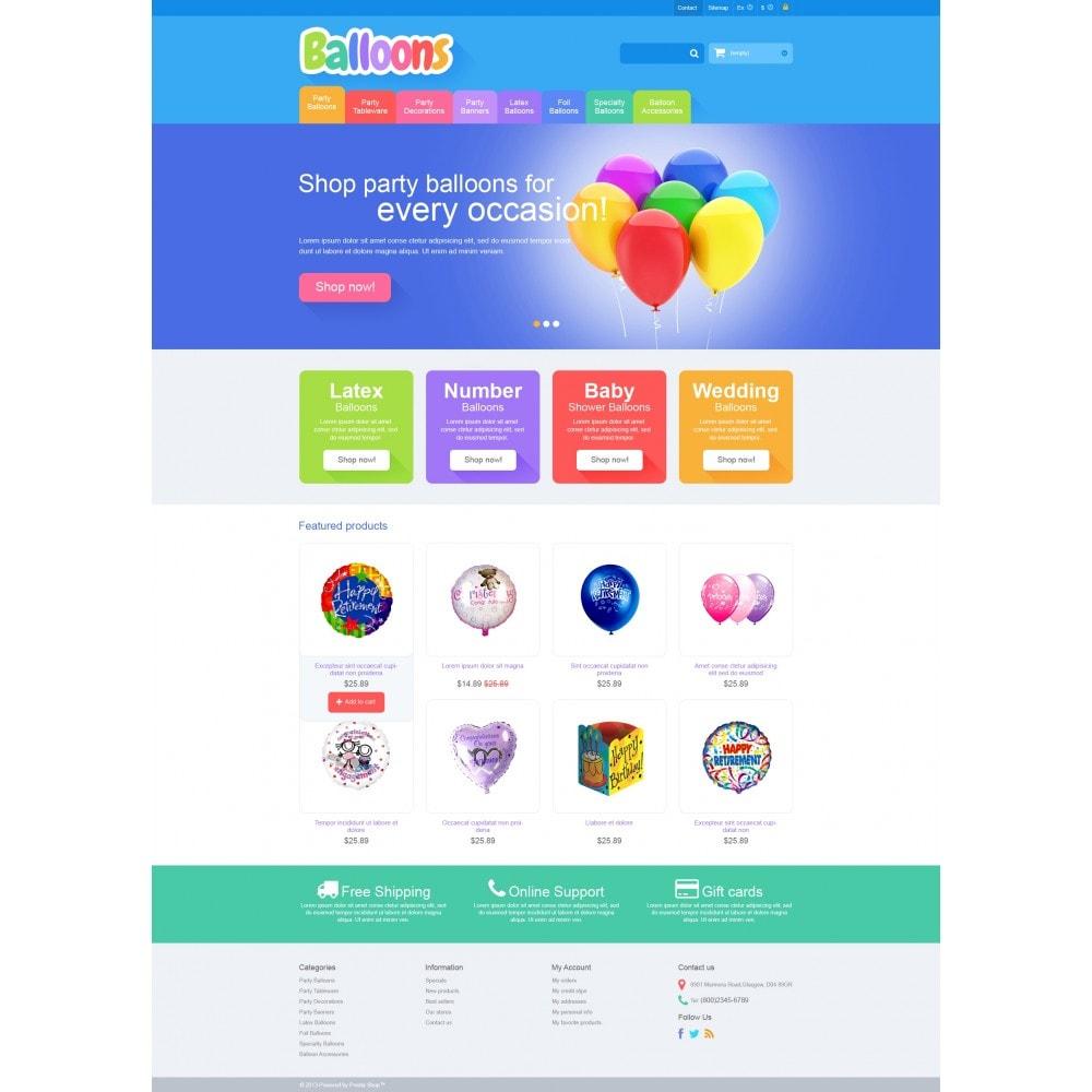 theme - Bambini & Giocattoli - Responsive Balloons Store - 4