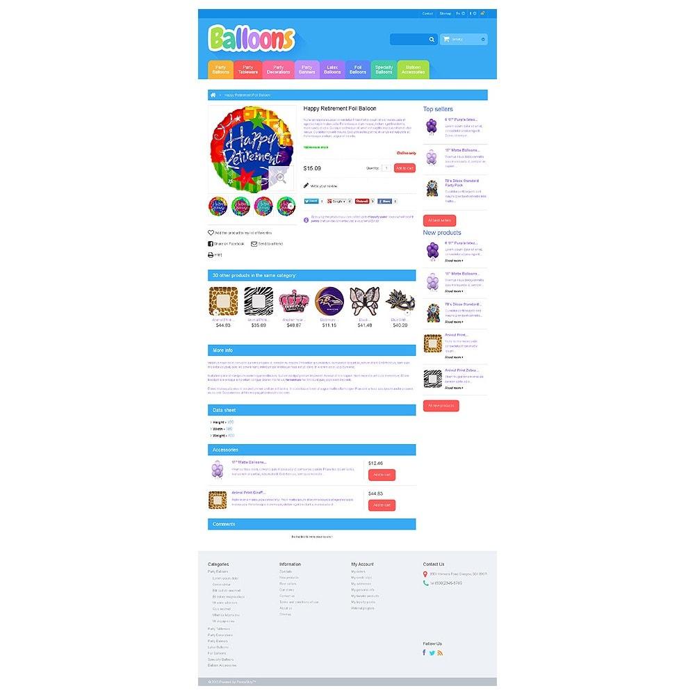 theme - Дети и Игрушки - Responsive Balloons Store - 6