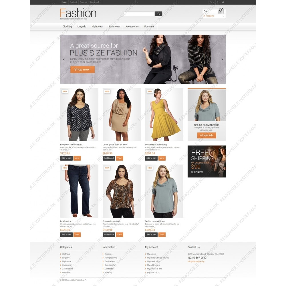 Clothes for Plump Women