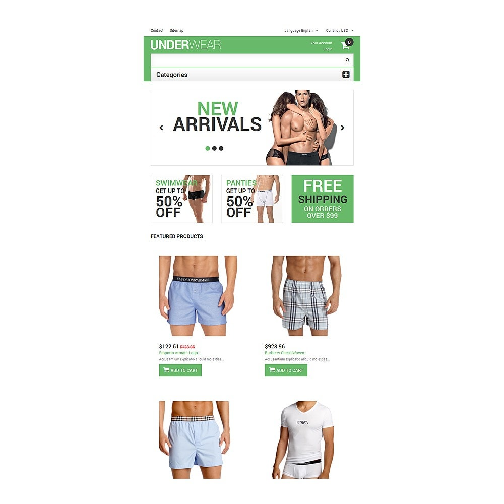 theme - Mode & Schoenen - Men's Underwear - 7