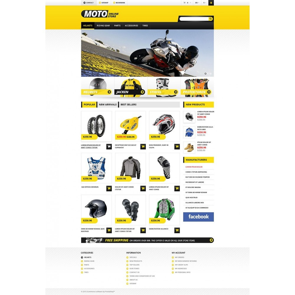 theme - Carros & Motos - Bike Shop - 2