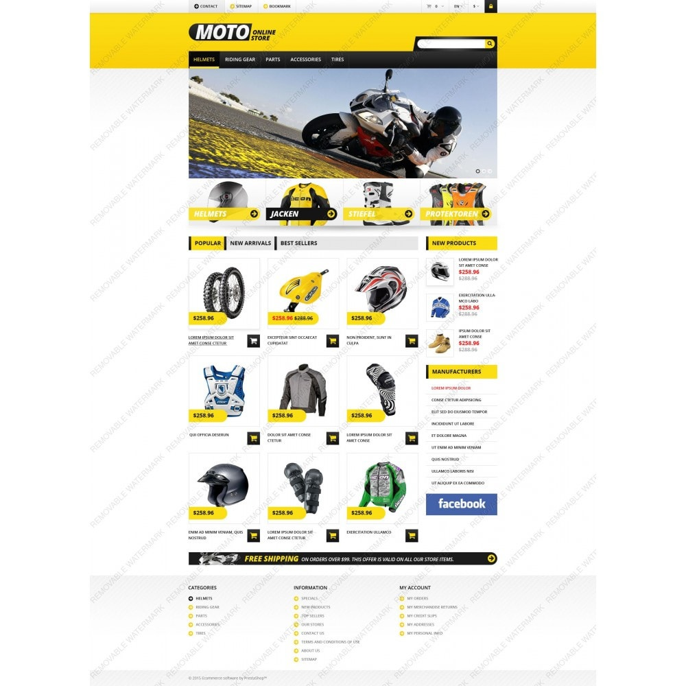 theme - Auto & Moto - Magasin de motos - 5