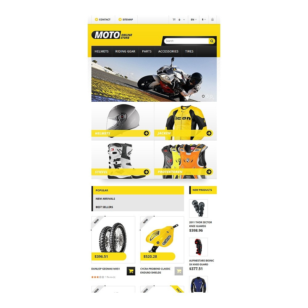 theme - Carros & Motos - Bike Shop - 7