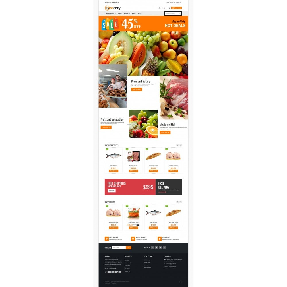 theme - Alimentation & Restauration - VP_Grocery Store - 2