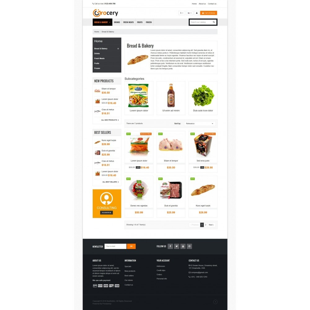 theme - Alimentation & Restauration - VP_Grocery Store - 3