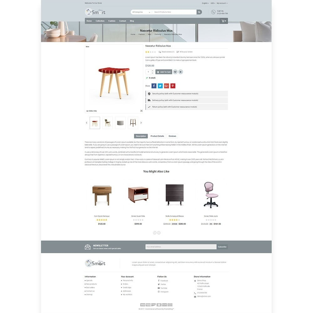 theme - Maison & Jardin - Furniture Smart Store - 5