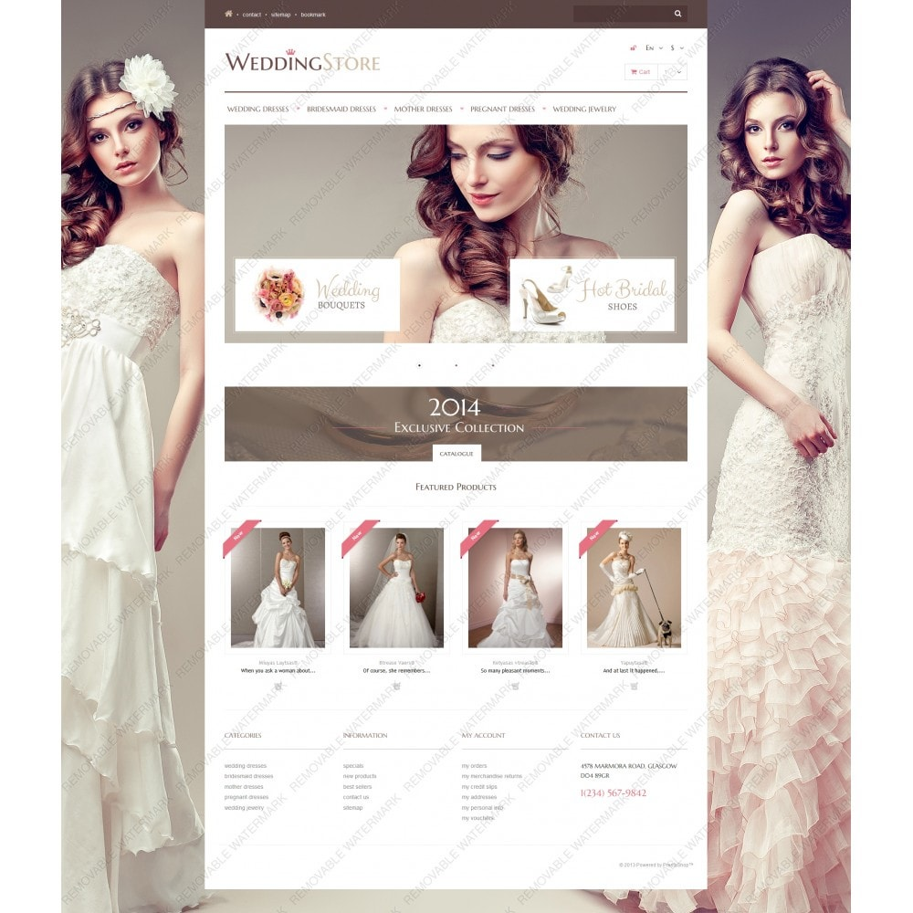 theme - Moda & Calzature - Wedding Store - 5