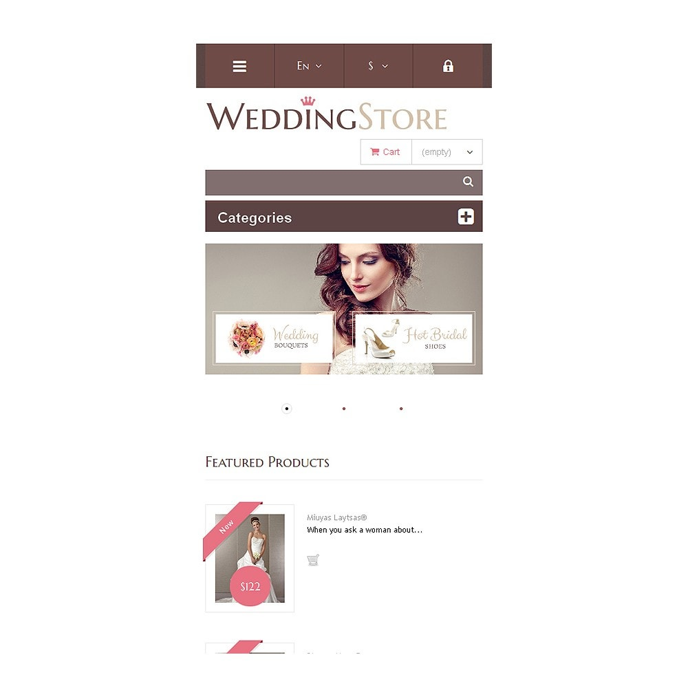 theme - Fashion & Shoes - Wedding Store - 9