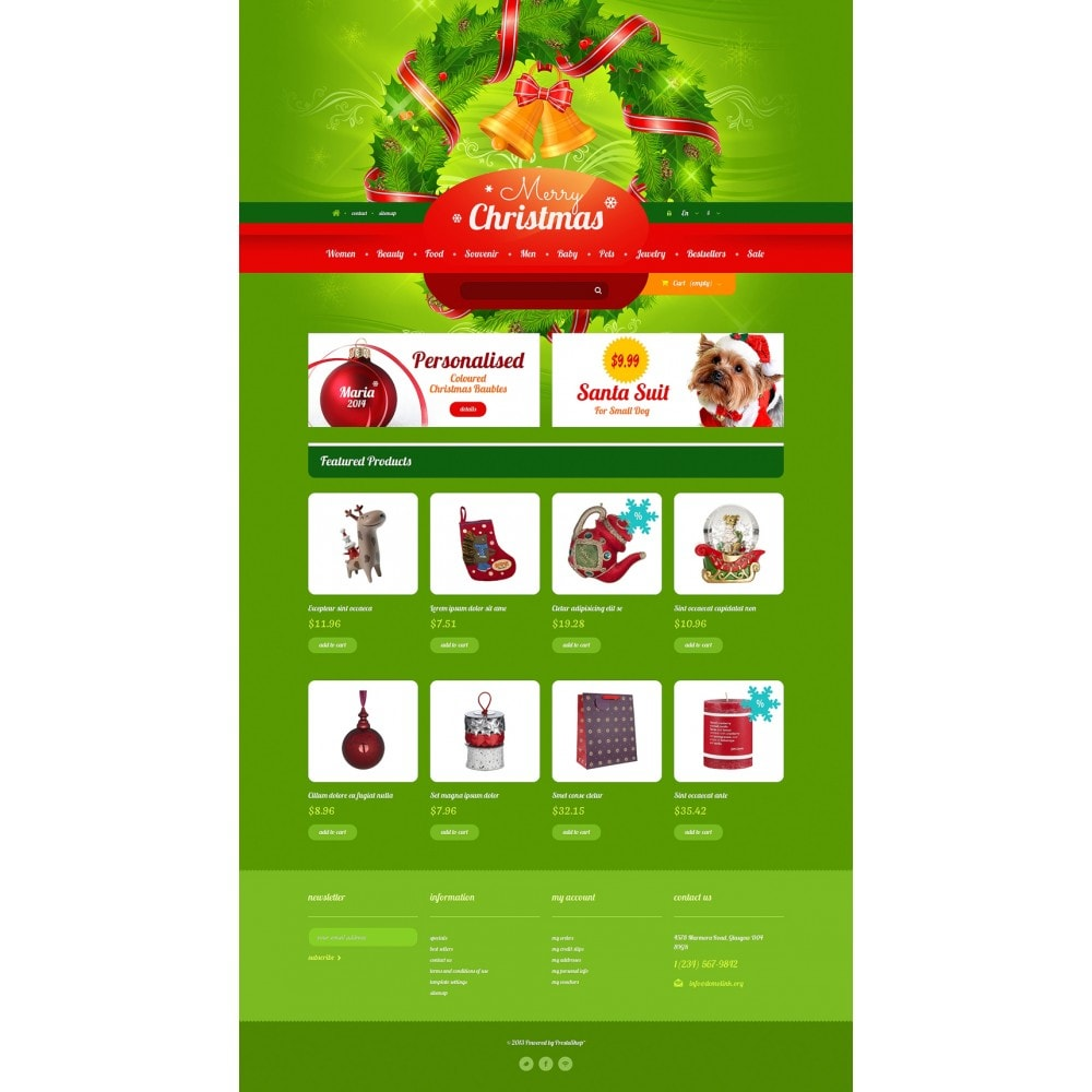 theme - Gifts, Flowers & Celebrations - Christmas Gift Shop - 2
