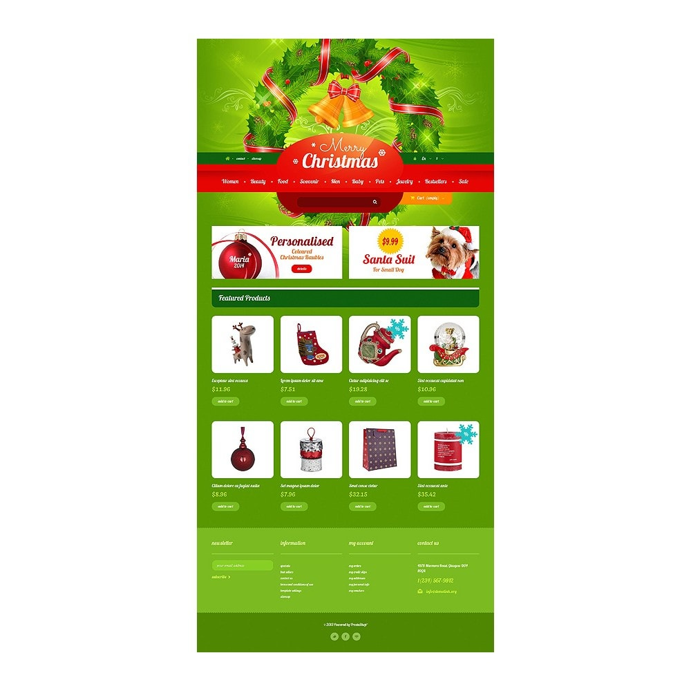 theme - Gifts, Flowers & Celebrations - Christmas Gift Shop - 10