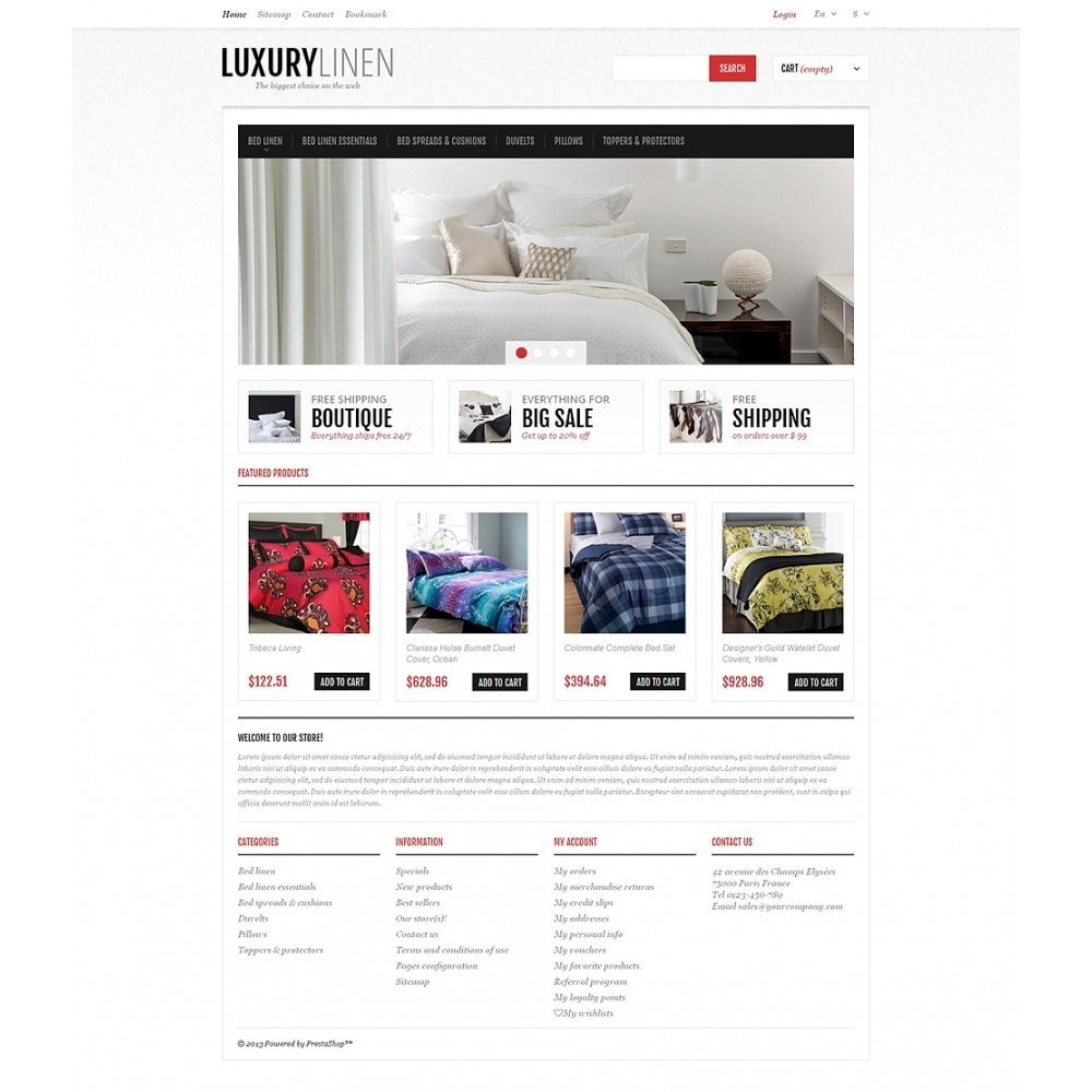 Luxurious Bed Linen