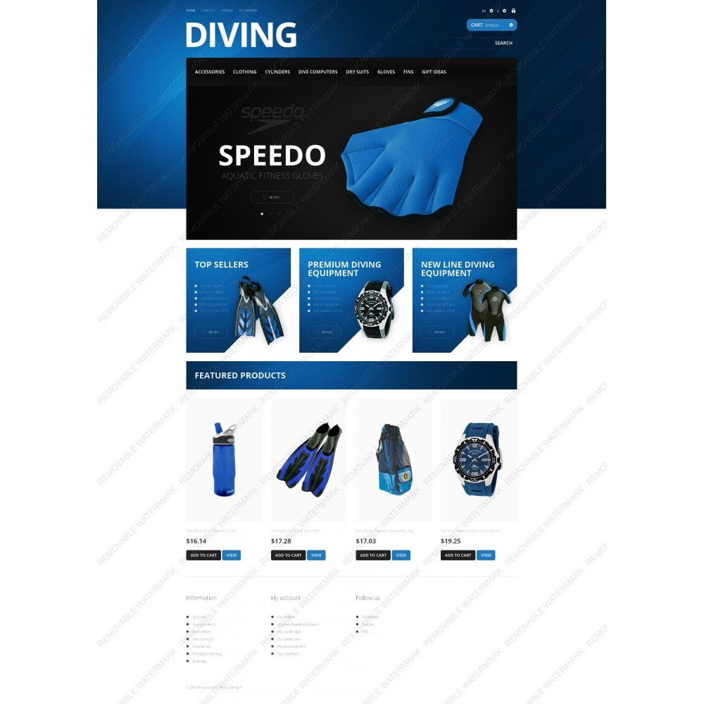 theme - Sports, Activities & Travel - Majestic Diving - 3