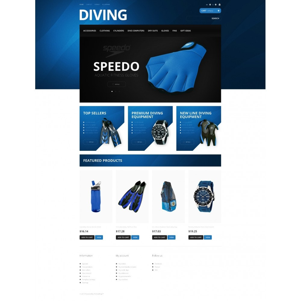 theme - Sports, Activities & Travel - Majestic Diving - 4