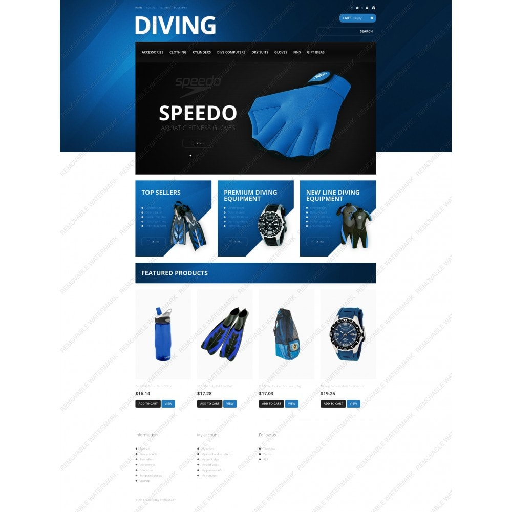 theme - Sports, Activities & Travel - Majestic Diving - 5