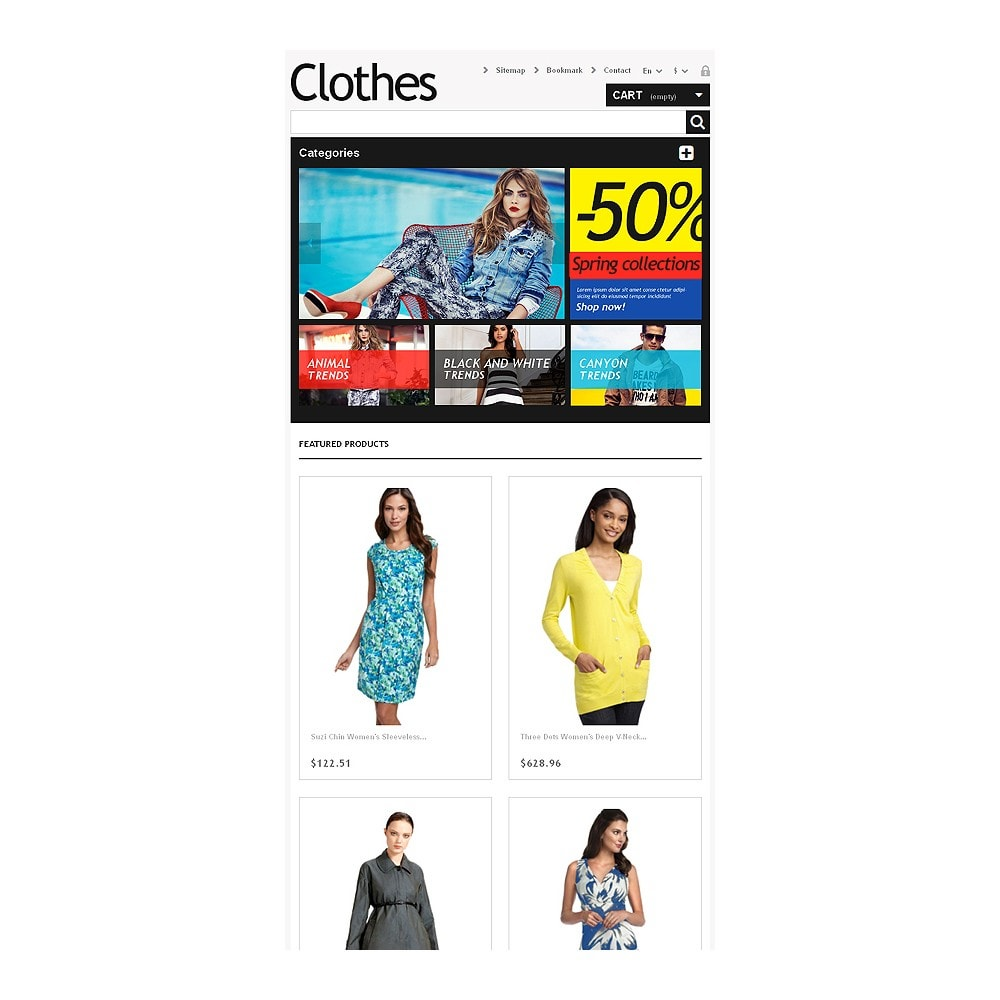 theme - Moda & Calzature - Clothes for Choosy Women - 7