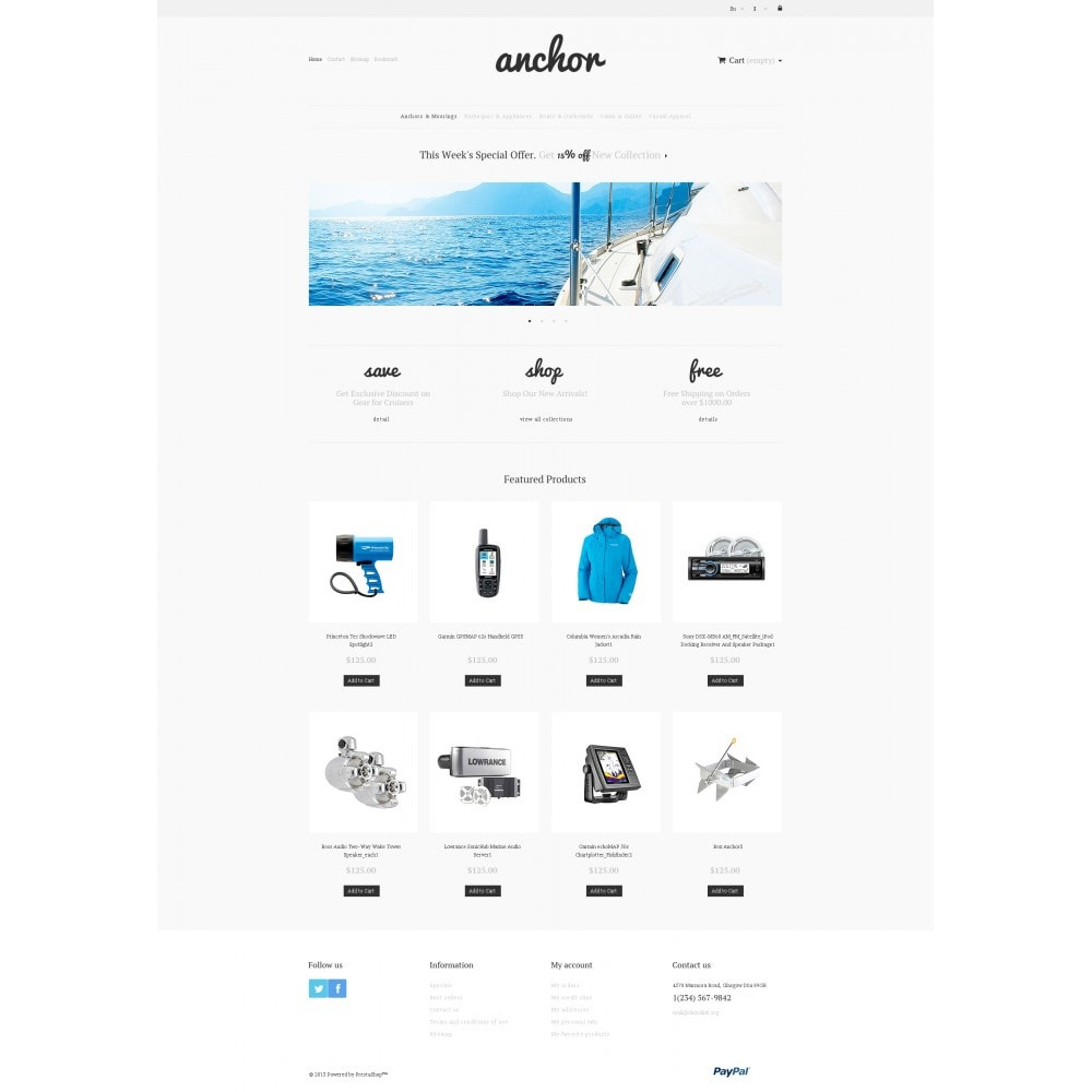 theme - Sport, Attività & Viaggi - Marine Store - 4