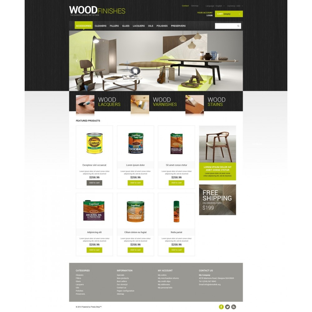theme - Kultura & Sztuka - Wood Finishes Store - 4