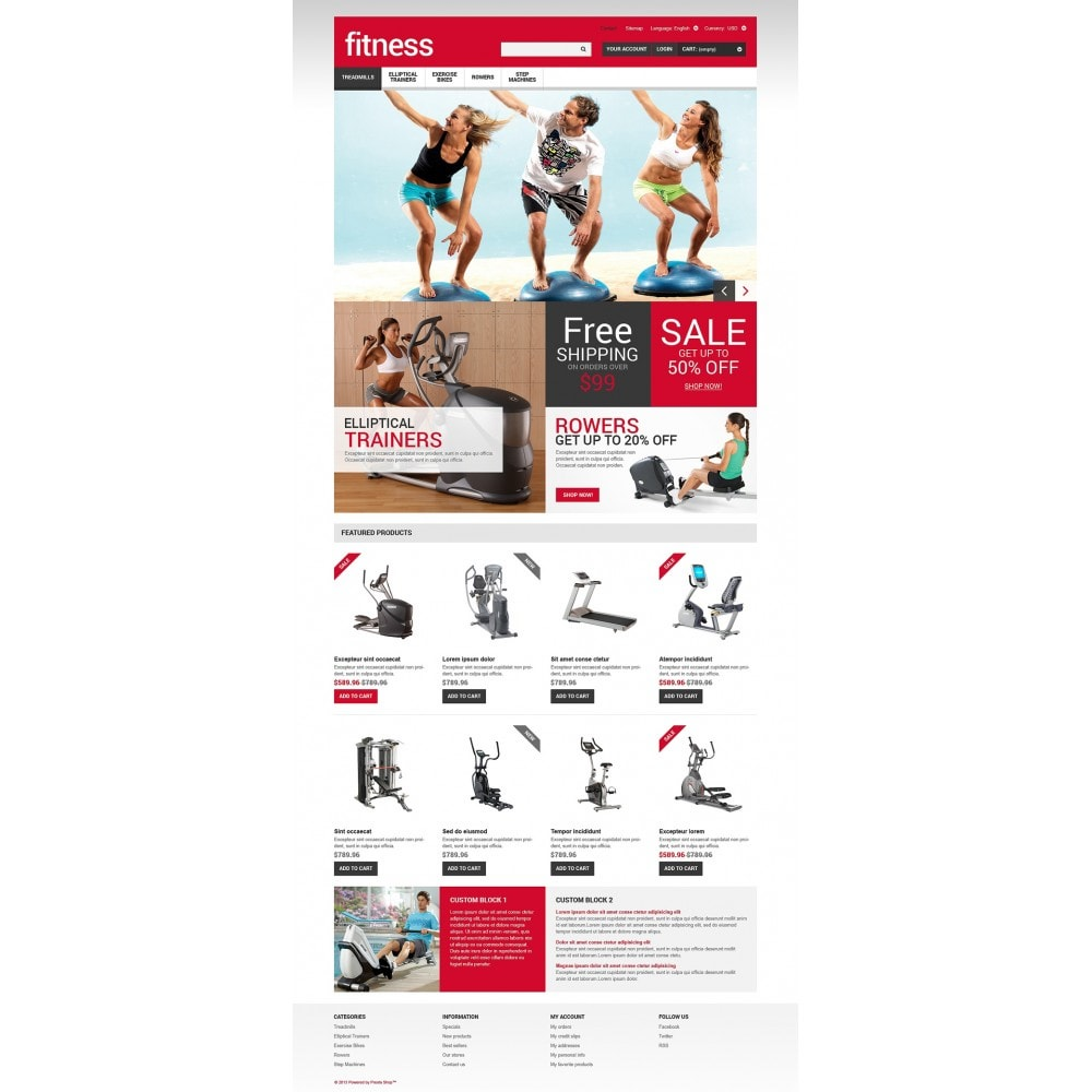 Sport and Fitness Store