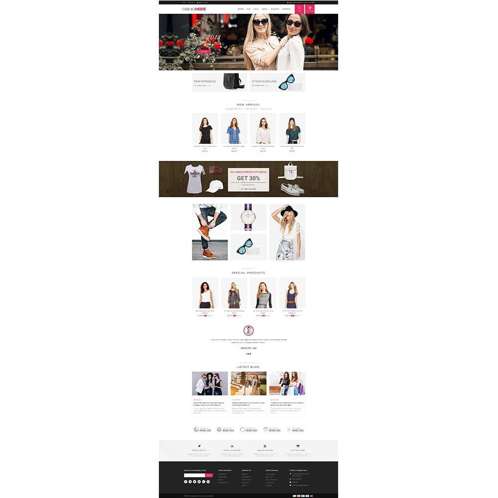 theme - Мода и обувь - Fashionmode Store - 2