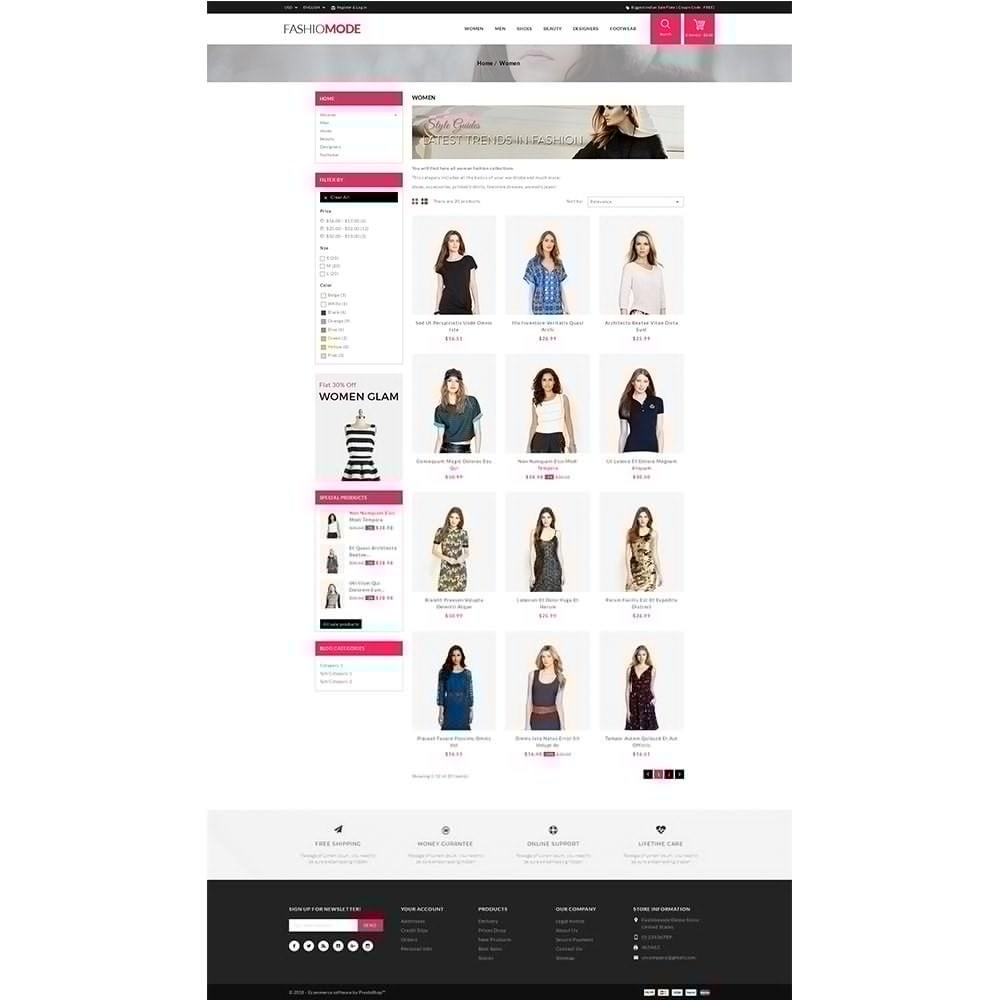 theme - Mode & Chaussures - Fashionmode Store - 3