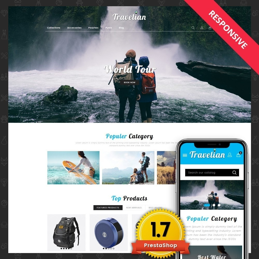 Travelian - Travel Store