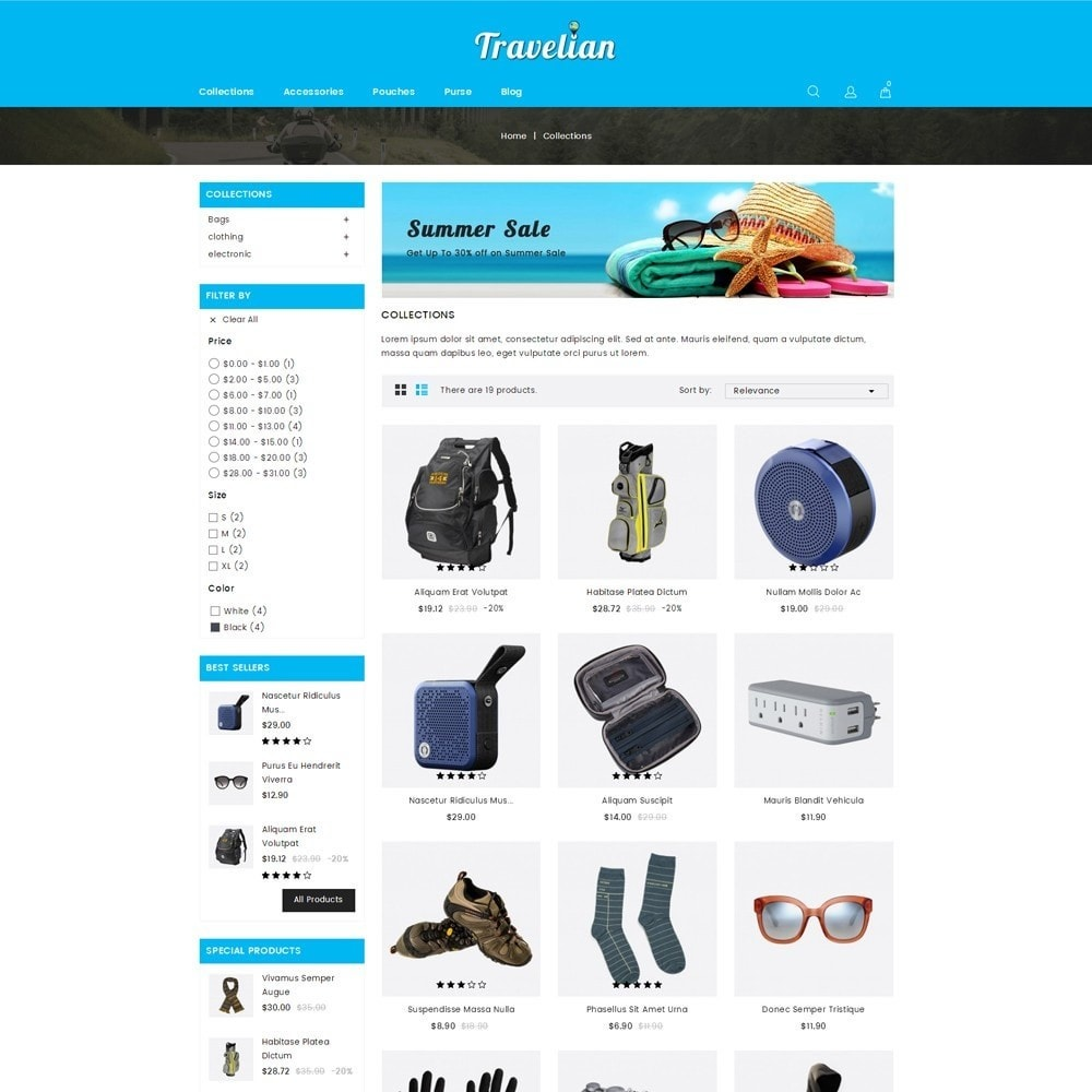 theme - Sport, Aktivitäten & Reise - Travelian - Travel Store - 3
