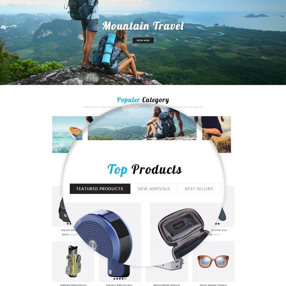 theme - Sport, Aktivitäten & Reise - Travelian - Travel Store - 9