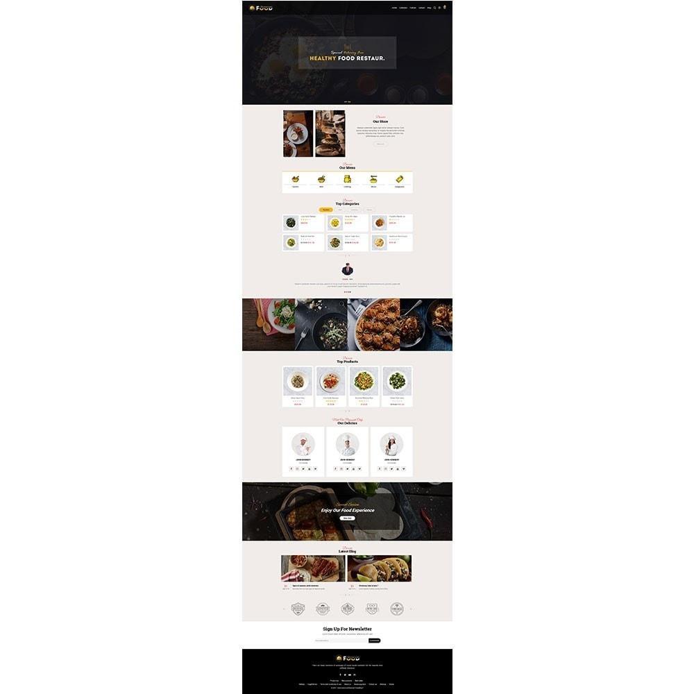 theme - Cibo & Ristorazione - Restro Food Store - 2