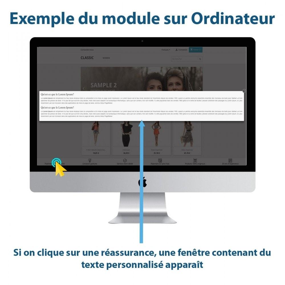 module - Blocs, Onglets & Bannières - Sticky Punchlines (Réassurances) - 2
