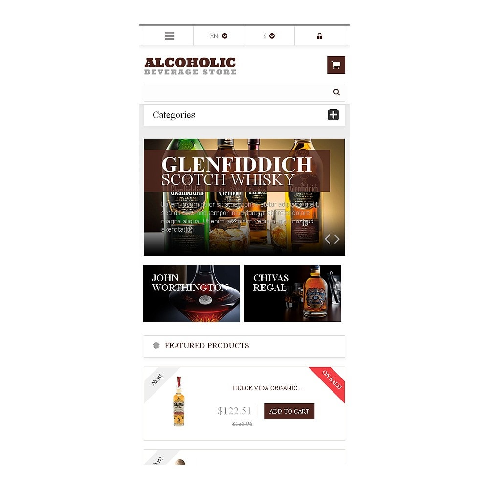 theme - Lebensmittel & Restaurants - Alcoholic Beverages Market - 8
