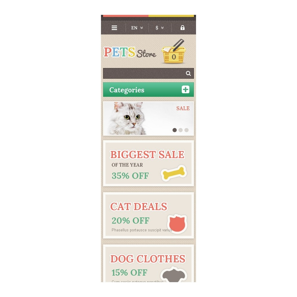 theme - Animaux - Responsive Pets Store - 9