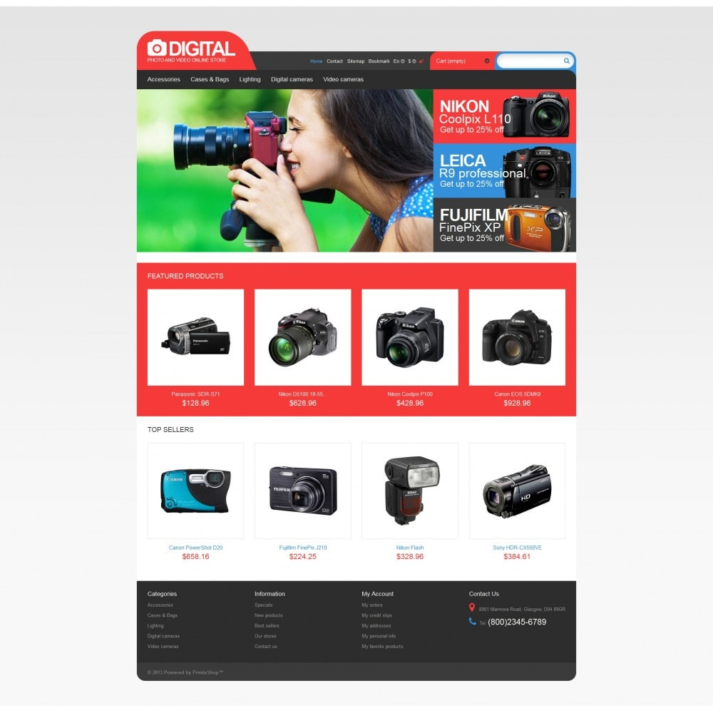 theme - Electronics & Computers - Photo & Video Store - 4